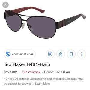 Ted Baker Accessories - Ted Baker black sunglasses.